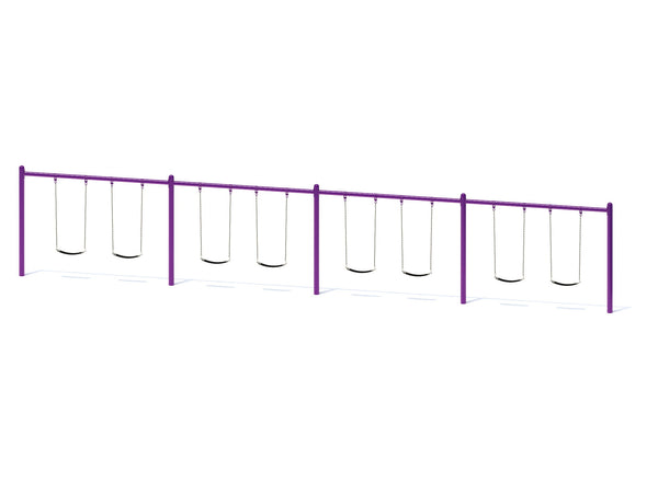 "Swing Set Swing Frame with 5"" Single Posts"