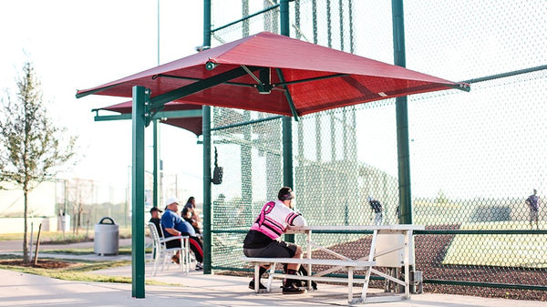 Cantilever Umbrella Shade - The Sun Shade Company