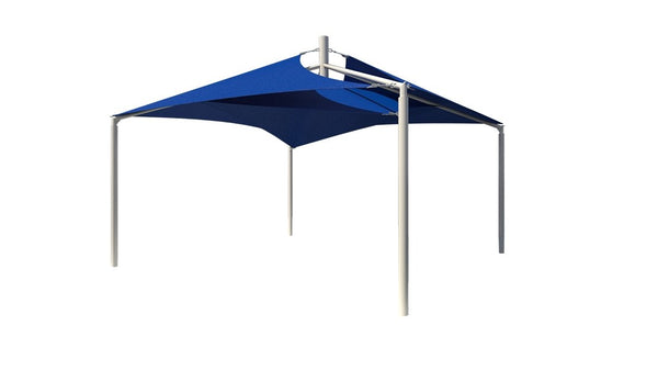 Sand Dollar Sail Shade Structure - The Sun Shade Company
