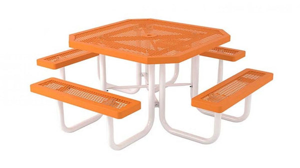 Portable Outdoor Octagon Picnic Table