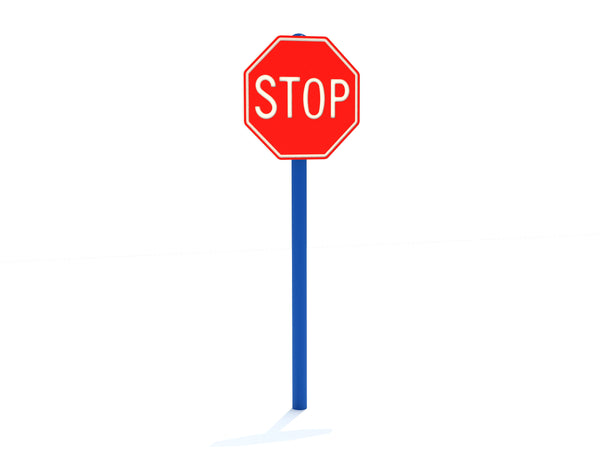 Stop Sign for Toddler Playground area