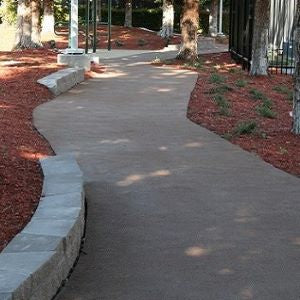 Outdoor Natural looking pathways