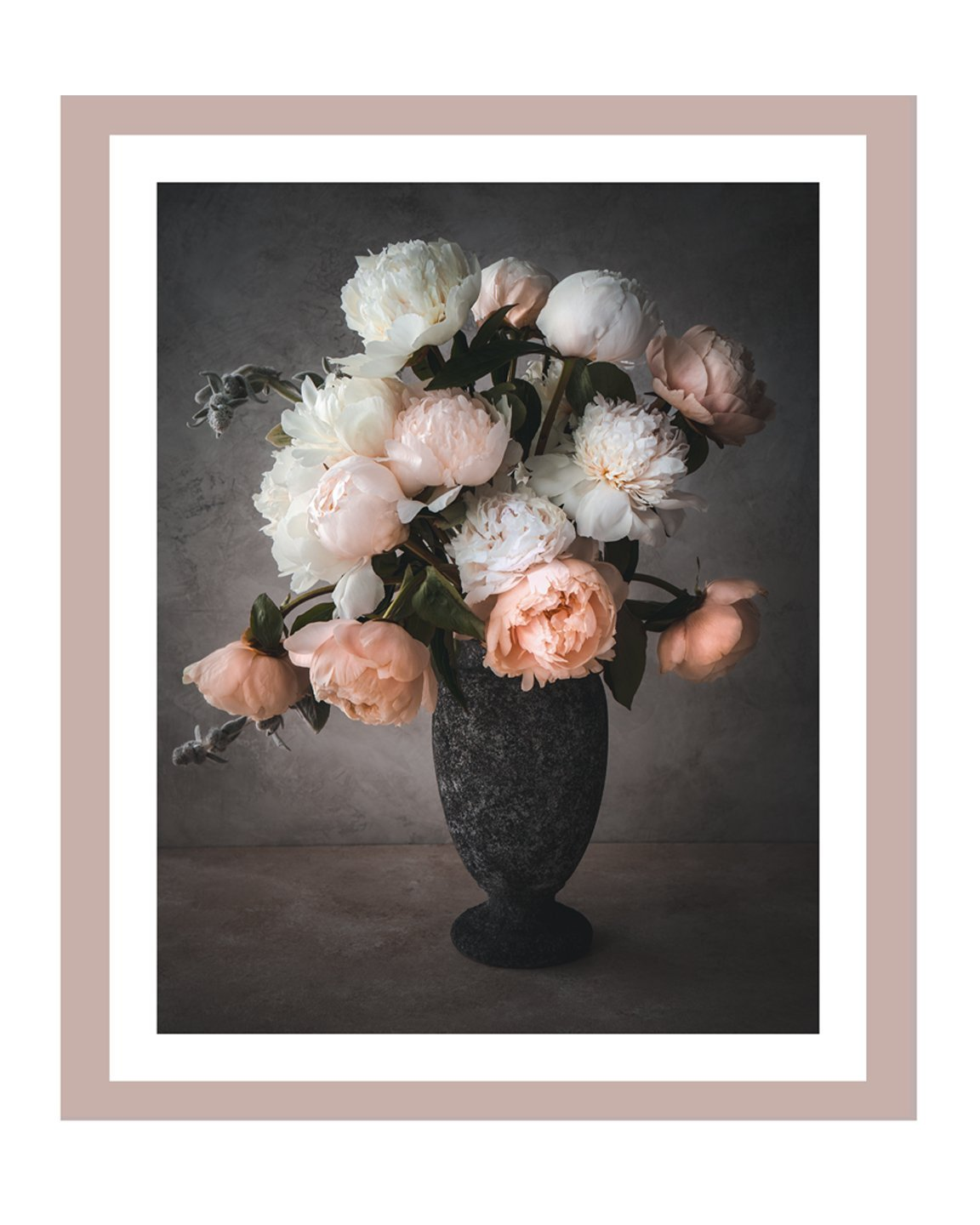 Blushing Romance I | Fine Art Flower Prints | Elena Dragoi