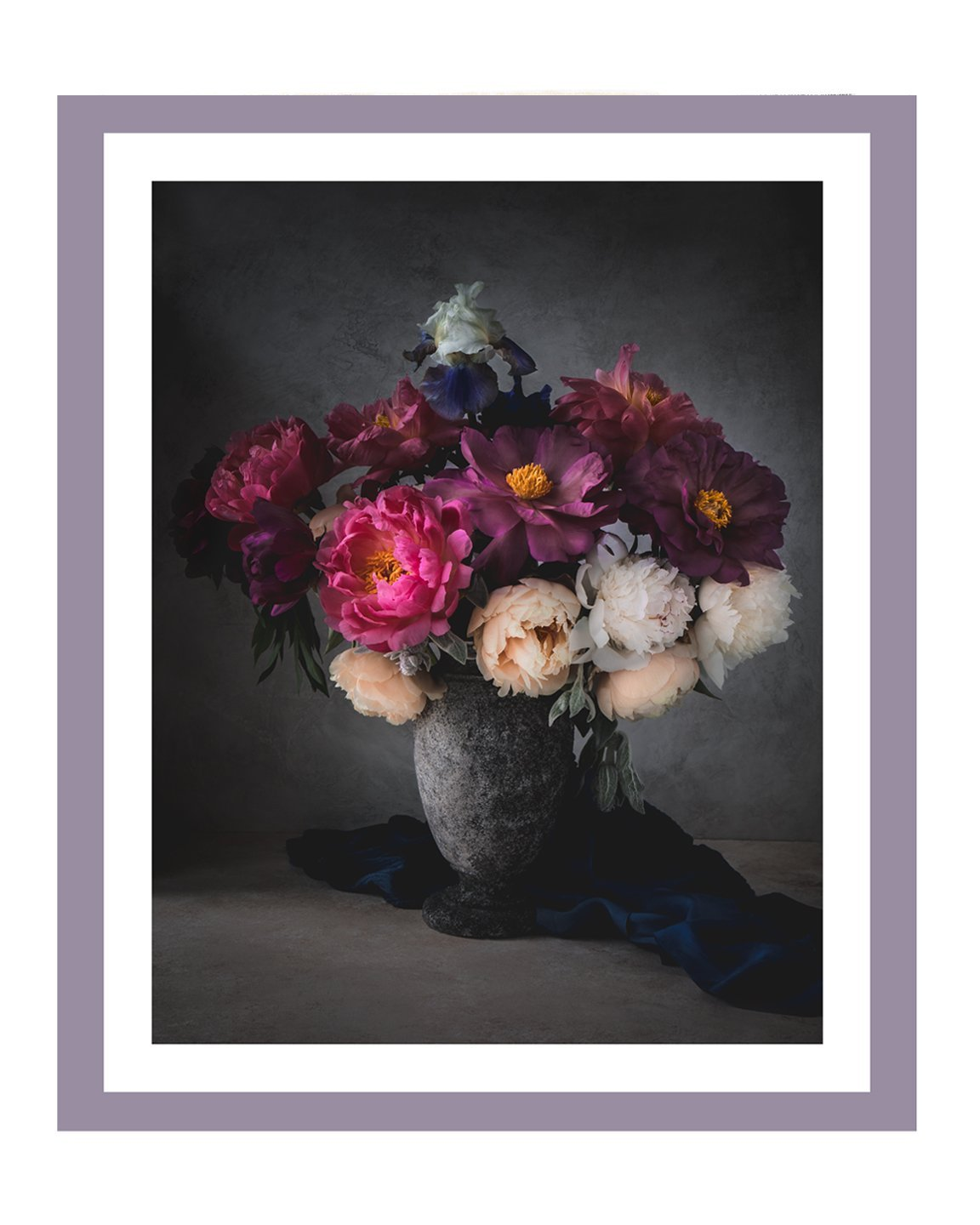 Blushing Romance II | Fine Art Flower Prints | Elena Dragoi