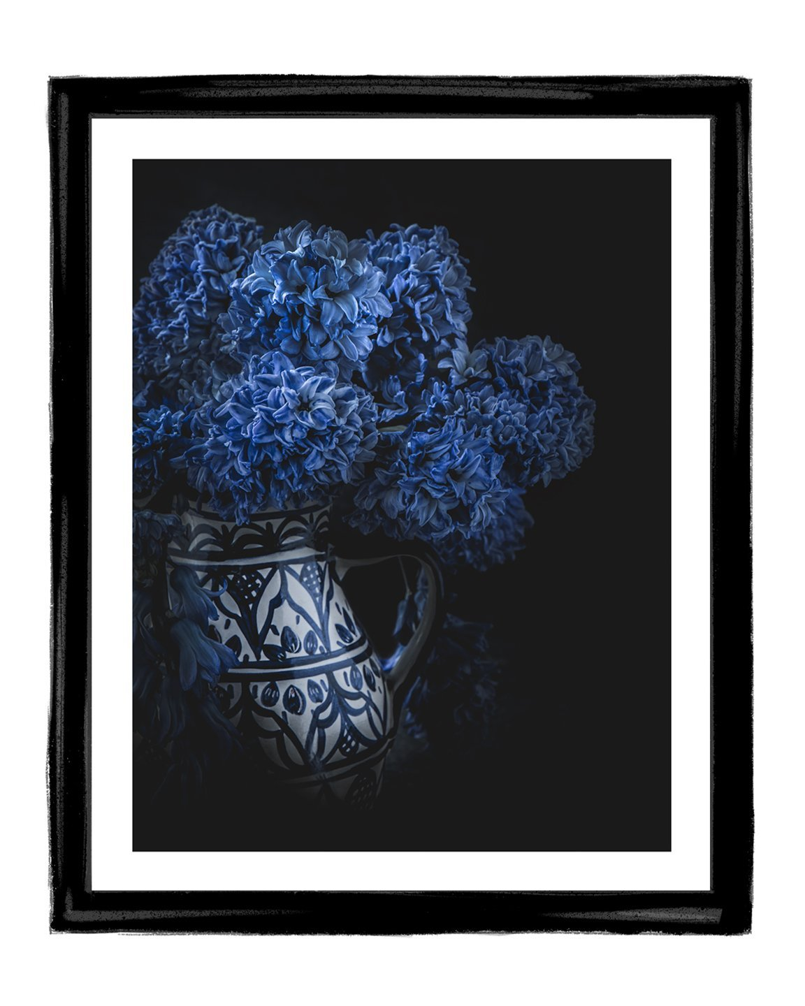 Born in Blue | Fine Art Flower Prints | Elena Dragoi