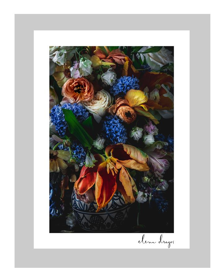 Dutch Masters III | custom floral art cards | art postcards | ELENA DRAGOI