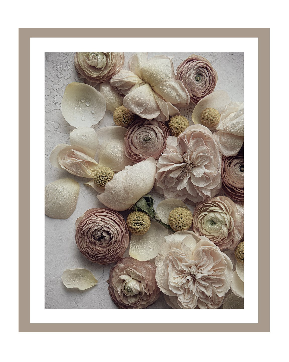 Love and Fleurs I | Flower art Prints | Elena Dragoi