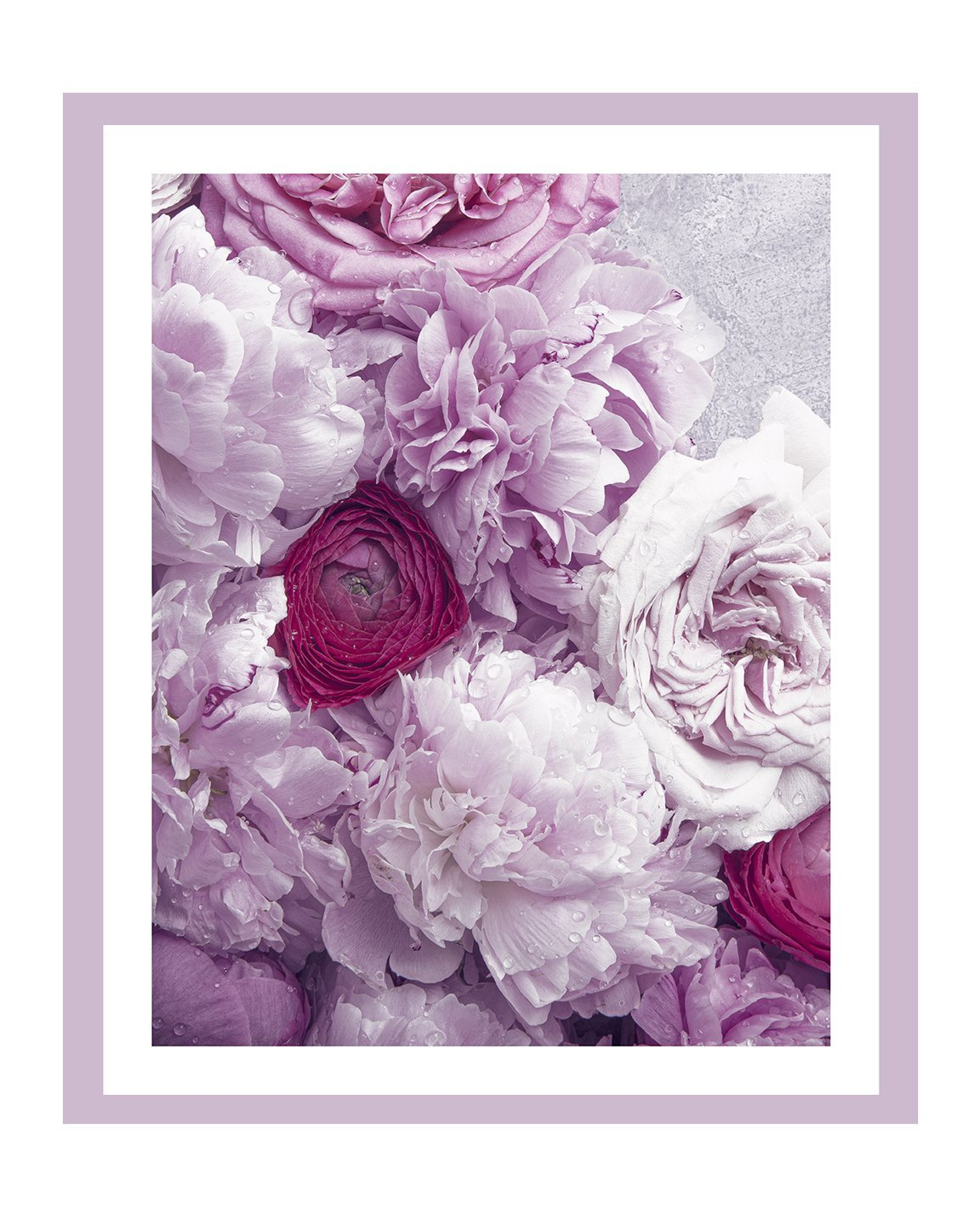 Love and Fleurs VI | Fine Art Flower Print | Elena Dragoi
