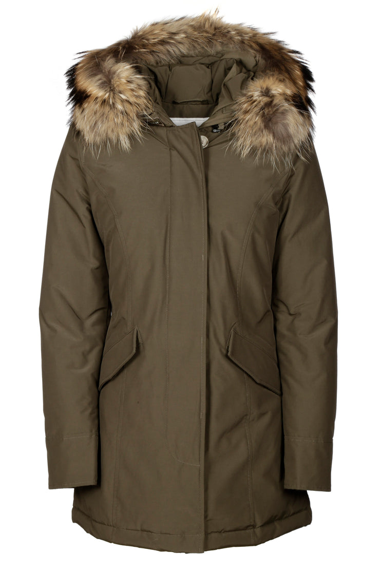 Woolrich Coats In Verde