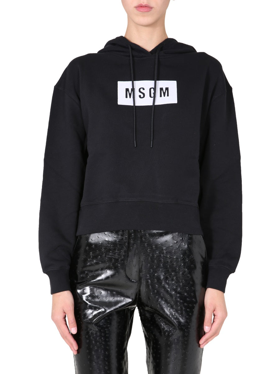 Msgm REGULAR FIT SWEATSHIRT