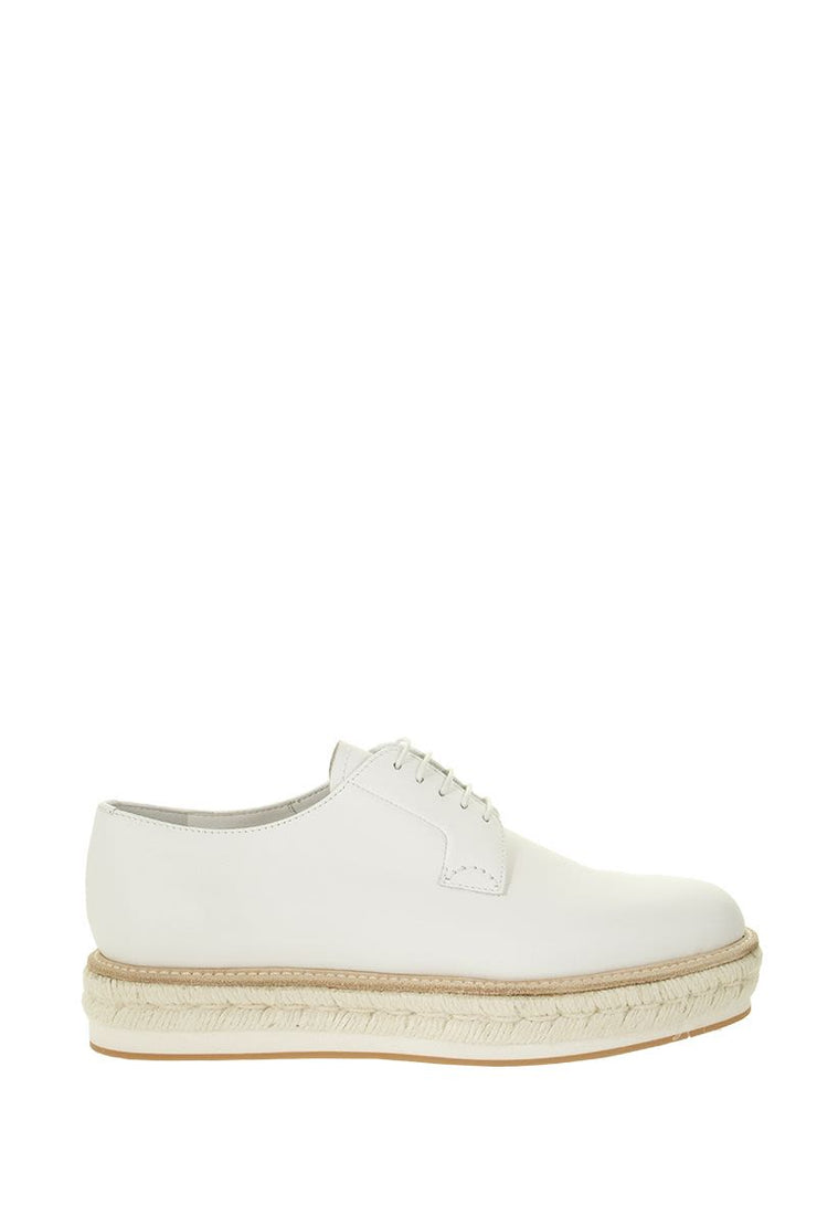 Church's Leathers CHURCH'S SHANNON ROPE - OXFORD SHOES WHIT ROPE