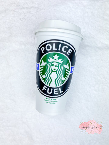 Police Hot Cup