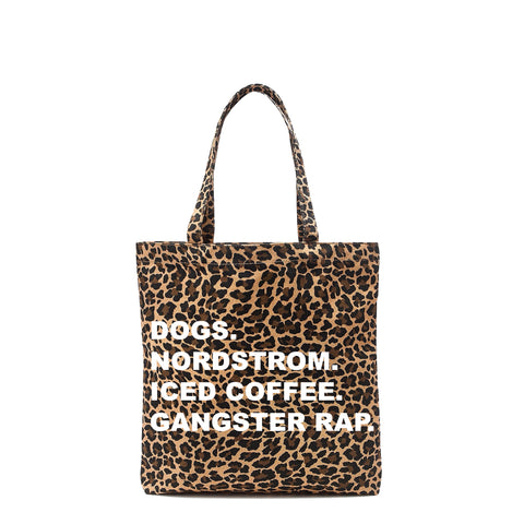 The Cutest Leopard Tote