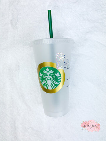 Engaged Ring, Future Mrs. Personalized Cold Cup