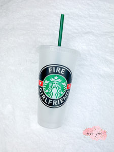 Firefighter Cold Cup