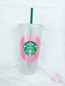 Boss Babe Personalized Cold Cup