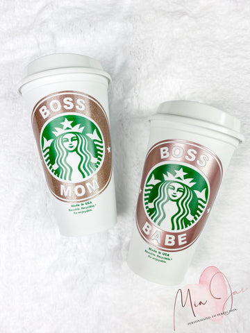 Boss Babe Personalized Hot Cup
