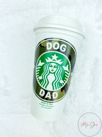 Dog Dad Personalized Hot Cup