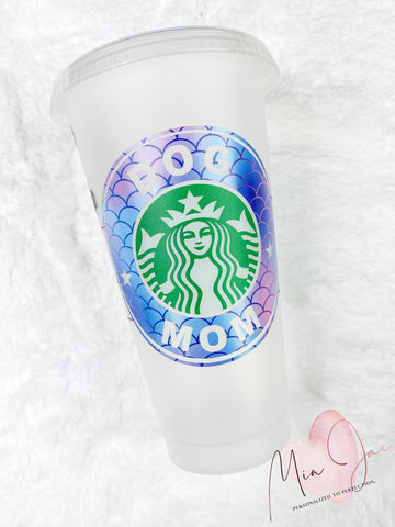 Dog Mom Personalized Cold Cup