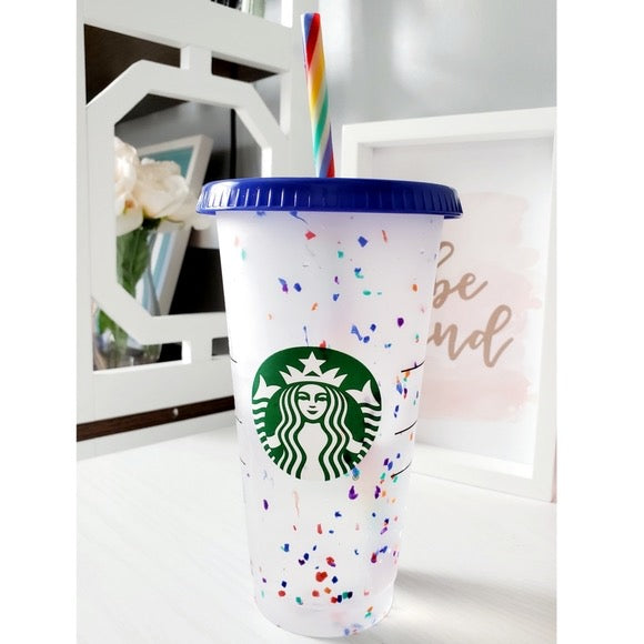Color Changing and Confetti Cold Cup