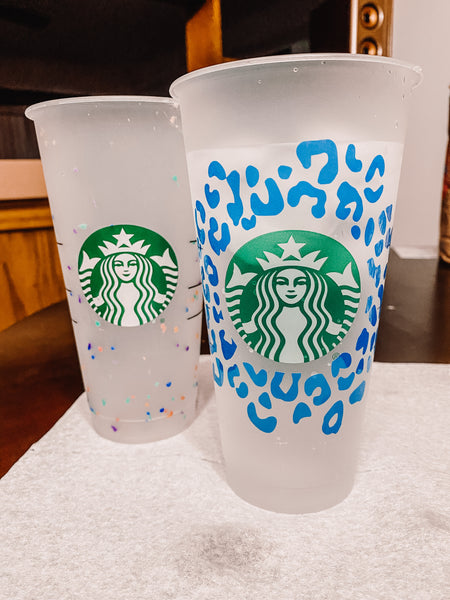 Cold Blue Color Changing Cup