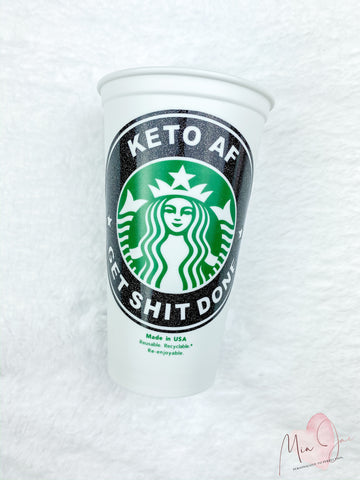 Keto AF Personalized Hot Cup
