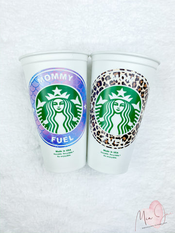 Mommy Fuel Personalized Hot Cup