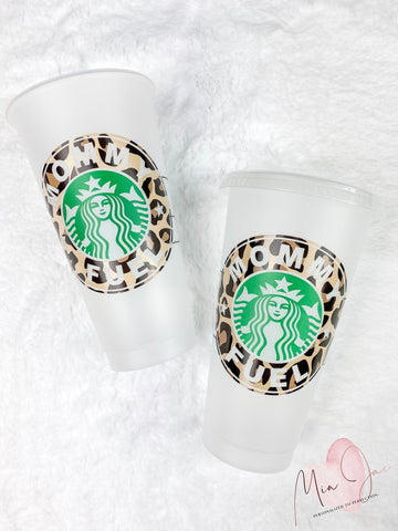 Mommy Fuel Personalized Cold Cup
