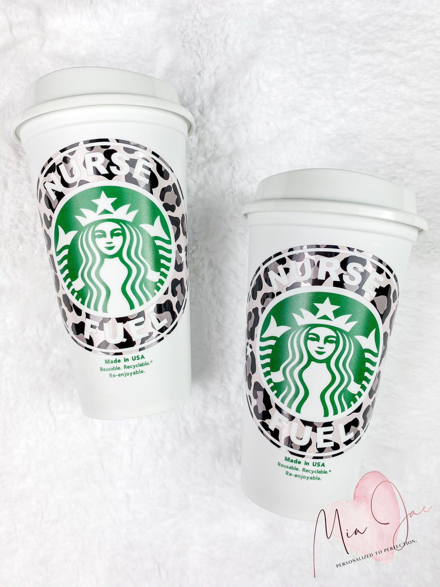 Nurse Fuel Personalized Hot Cup