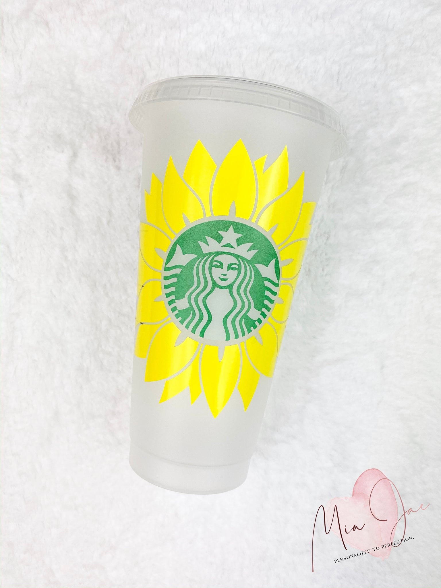 Sunflower Personalized Cold Cup