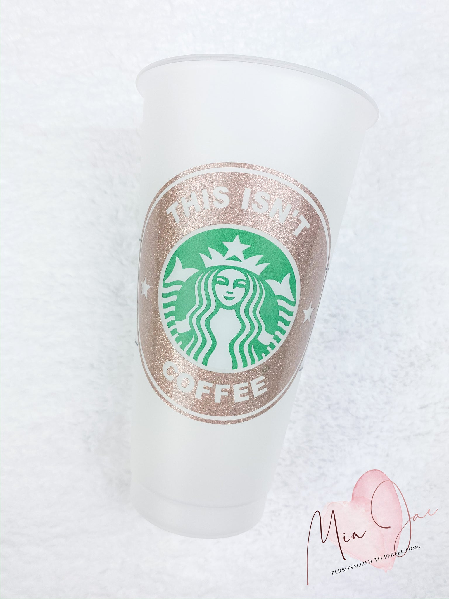 This Isn't Coffee Personalized Cold Cup