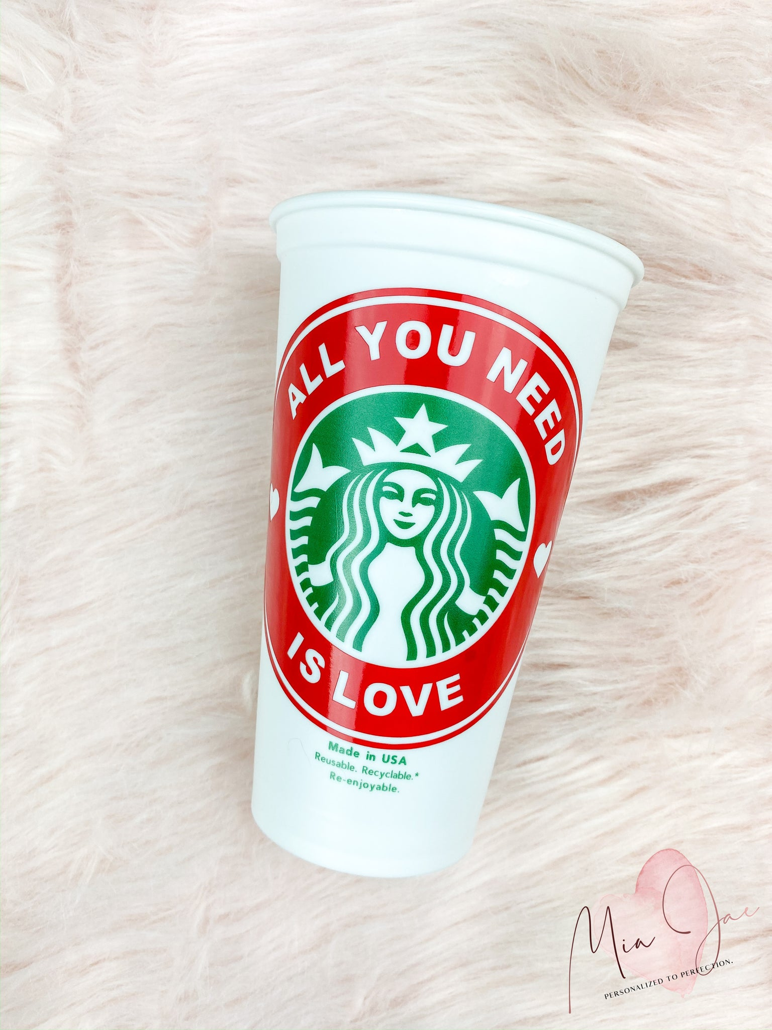 All You Need Is Love Hot Cup