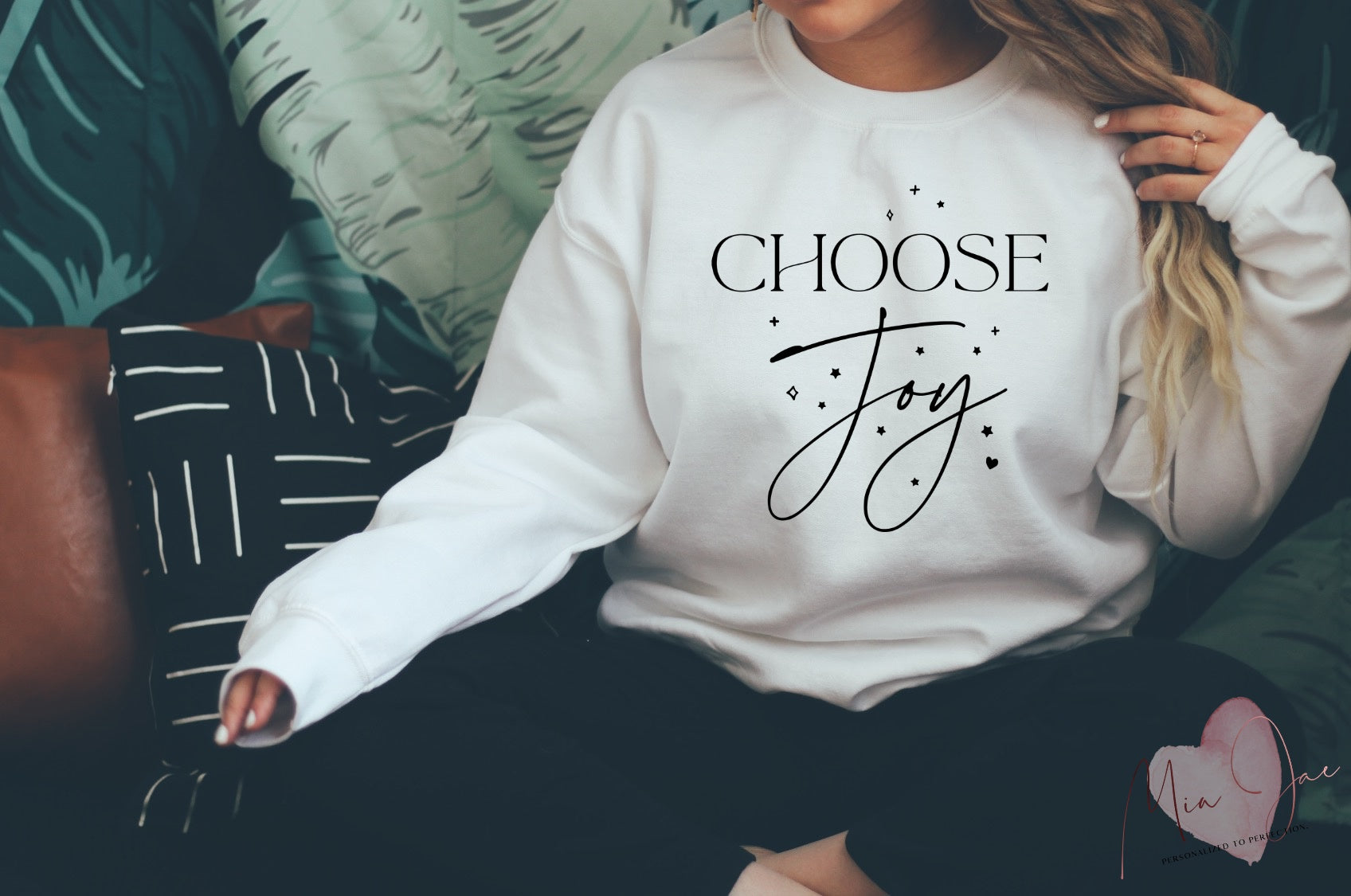 Choose Joy sweatshirt