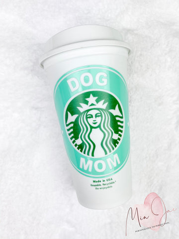 Dog Mom Personalized Hot Cup