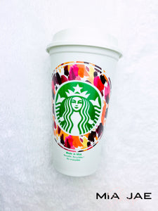Fall Watercolor Personalized Hot Cup