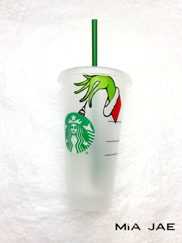 Grinch Hand Cold Cup