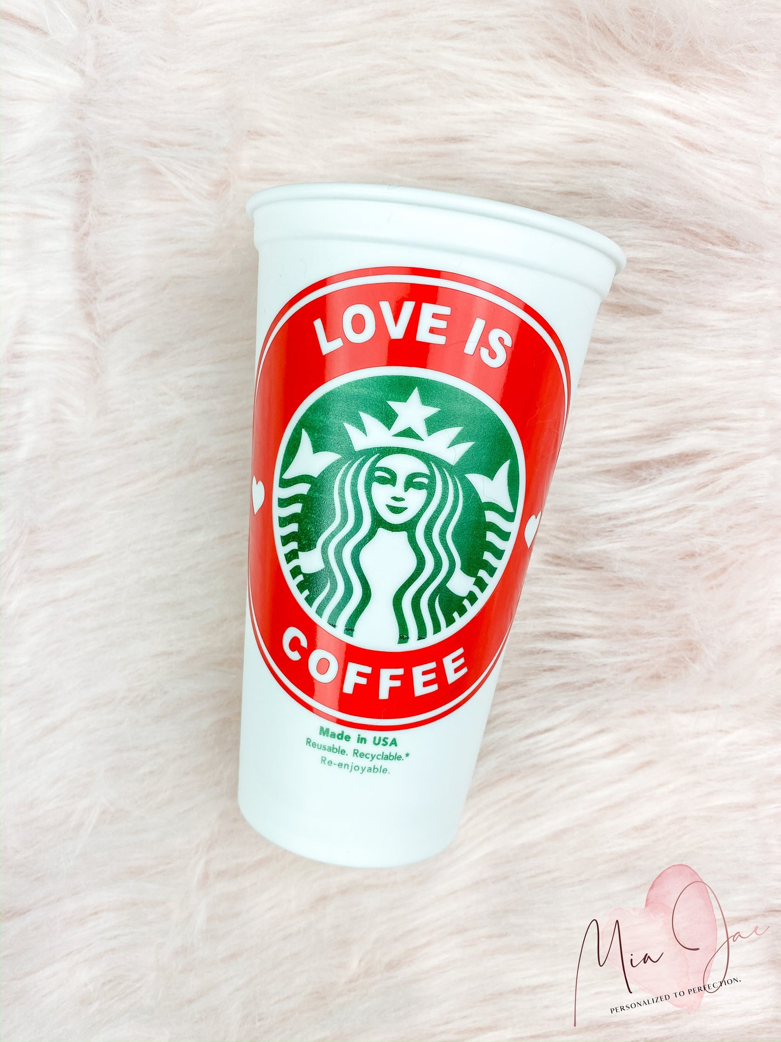 Love Is Coffee Hot Cup