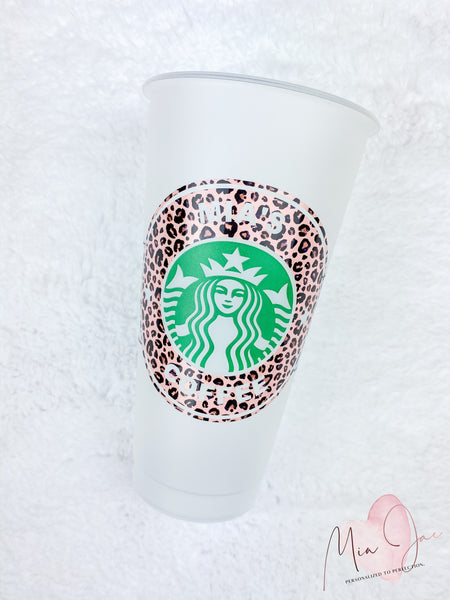 Coffee Personalized Cold Cup