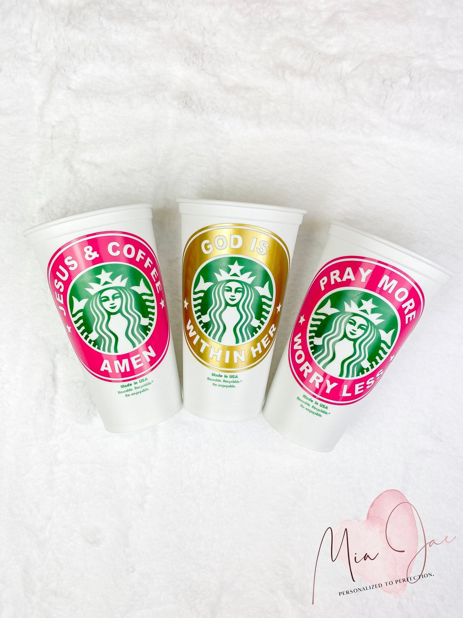 Religious Personalized Hot Cup