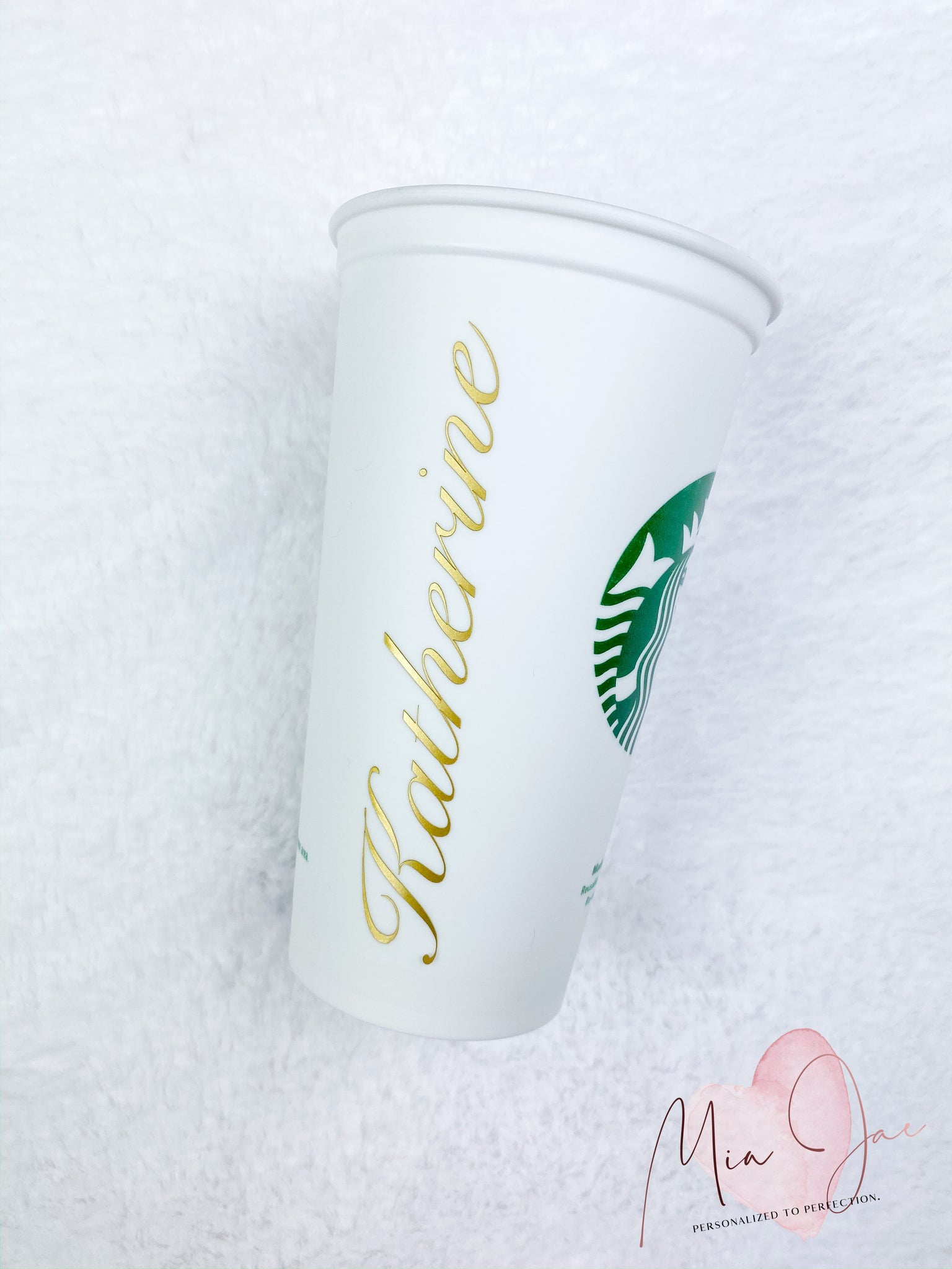 Script Name, Elegant Personalized Hot Cup