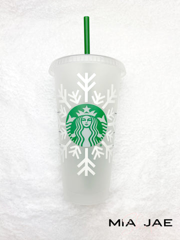 Snowflake Cold Cup
