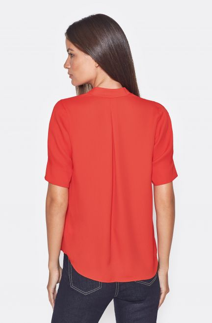 Ance Top in Scarlet