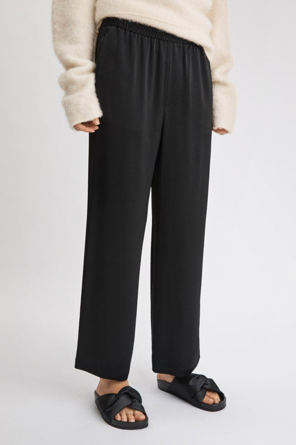 KImberley Trouser in Black Satin