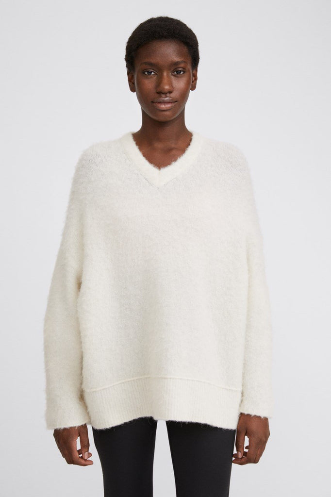 Laurel Sweater in White