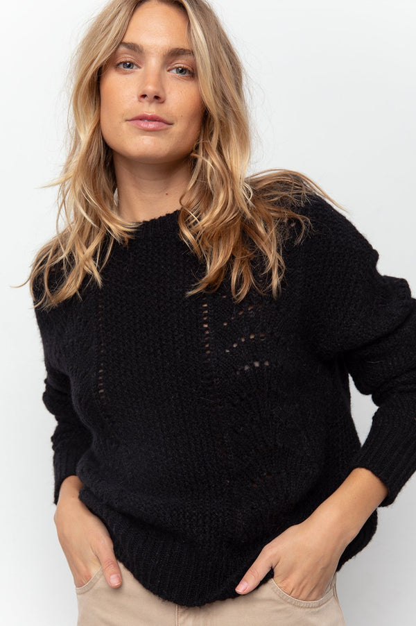 Mara Pointelle Sweater