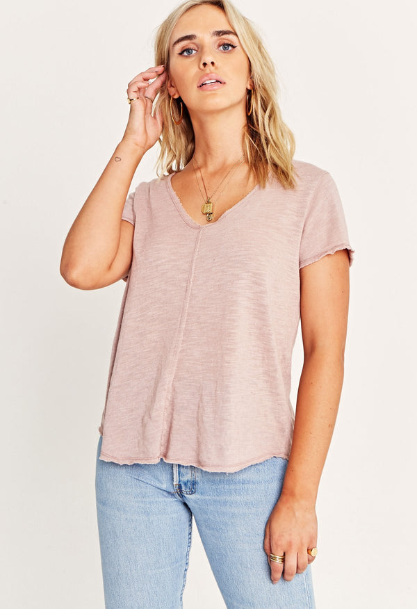Wearever Tee in Dusted Almond
