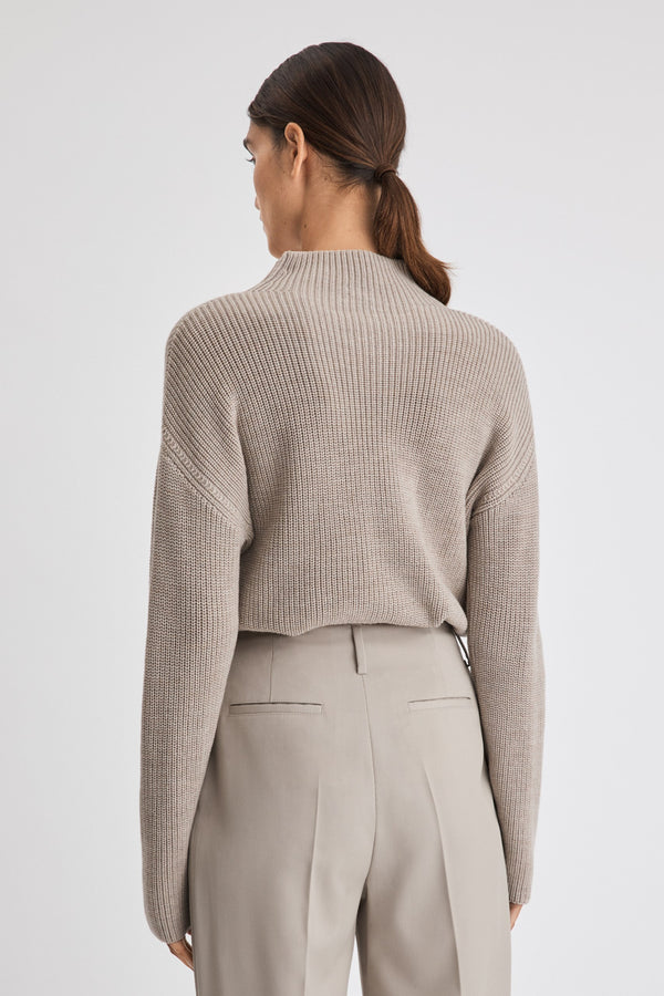 Willow Sweater in Grey Beige