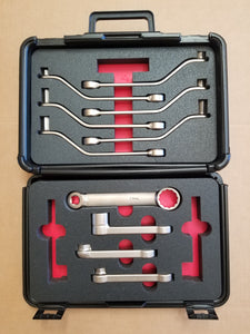 Wing Bolt Wrench Set (without tools that are used only on the King Air Series).