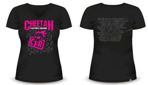 CFR Womens Pow Tour T-Shirt.