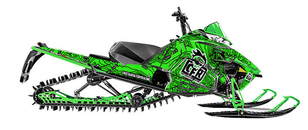 Arctic Cat Pro Climb full Sled wrap